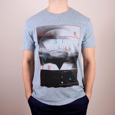 T-shirt Quiksilver Recycled Tee Oceanic - Bluestone