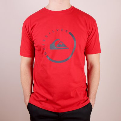 T-shirt Quiksilver Classic Tee Everyday Active - Quik Red