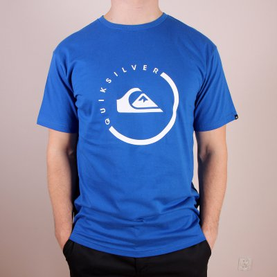 T-shirt Quiksilver Classic Tee Everyday Active - Olympian Blue