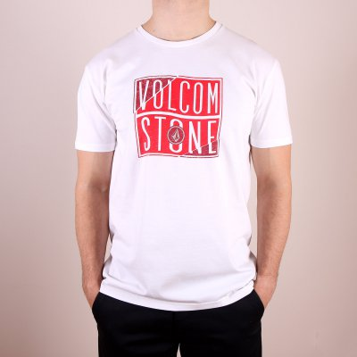 T-shirt Volcom Flag Basic SS - White