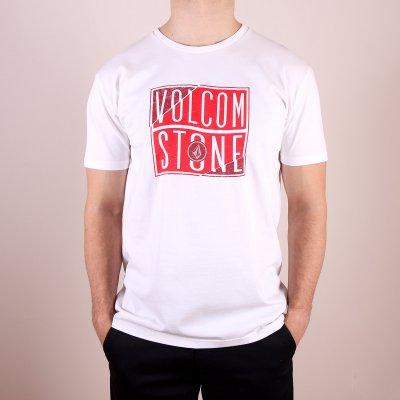 T-shirt Volcom Flag Basic SS - White