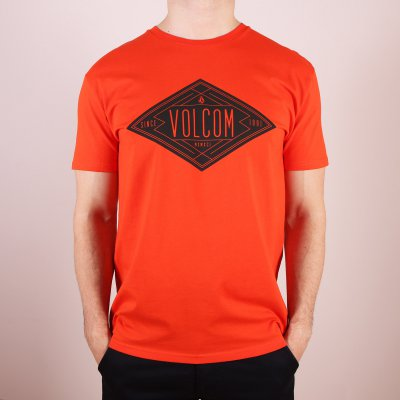 T-shirt Volcom Afron Basic SS - Why Rock Red