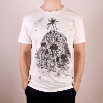 T-shirt Volcom Visible Muerta Lightweight SS - Pearl