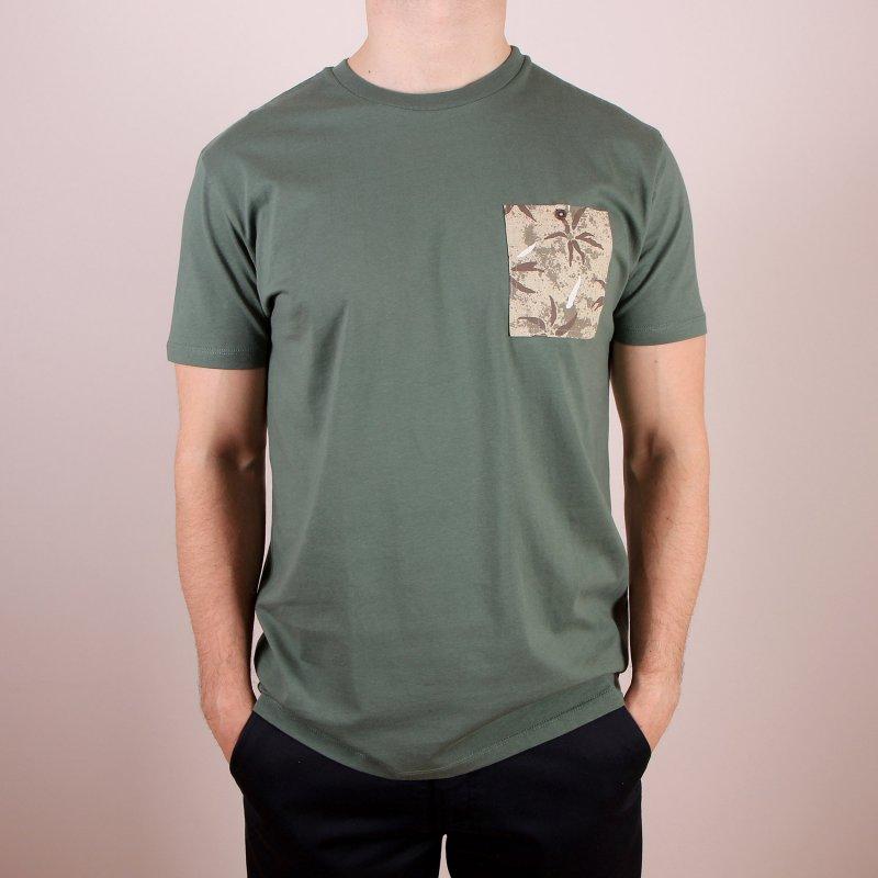 T-shirt Volcom Otis Pocket SS - Cedar Green