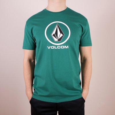 T-shirt Volcom Circle Stone Basic SS - Grass Green