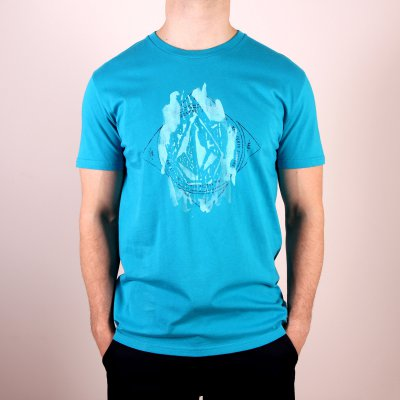 T-shirt Volcom Mashtaors Basic SS - Atlantic