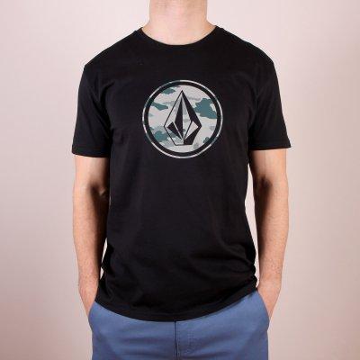 T-shirt Volcom Camo Stone Basic SS - Black