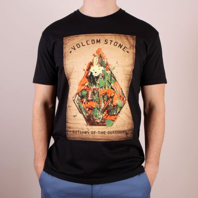 T-shirt Volcom Nature Stone Basic SS - Black