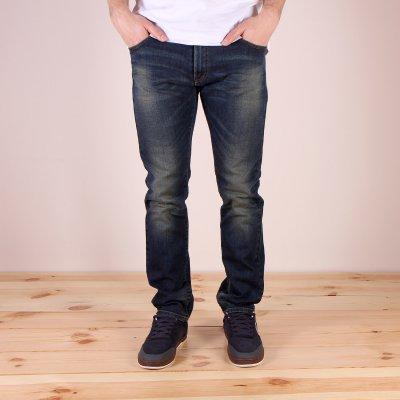 Spodnie jeansowe Volcom Vorta High Jean - Wrecked Indigo
