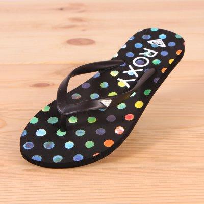 Japonki Roxy Bamboo - Black Dots
