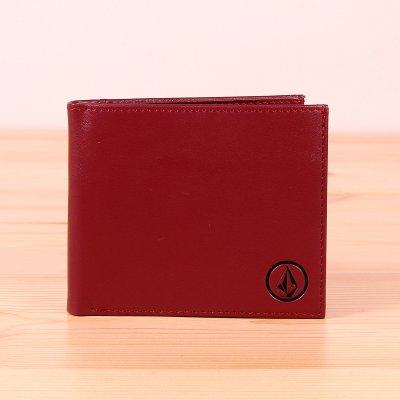 Portfel Volcom Corps Wallet L - Crimson