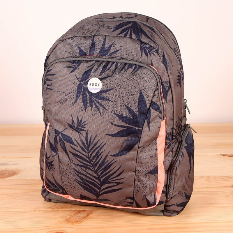 Plecak Roxy Alright Printed - Indo Floral Combo Dusty Olive