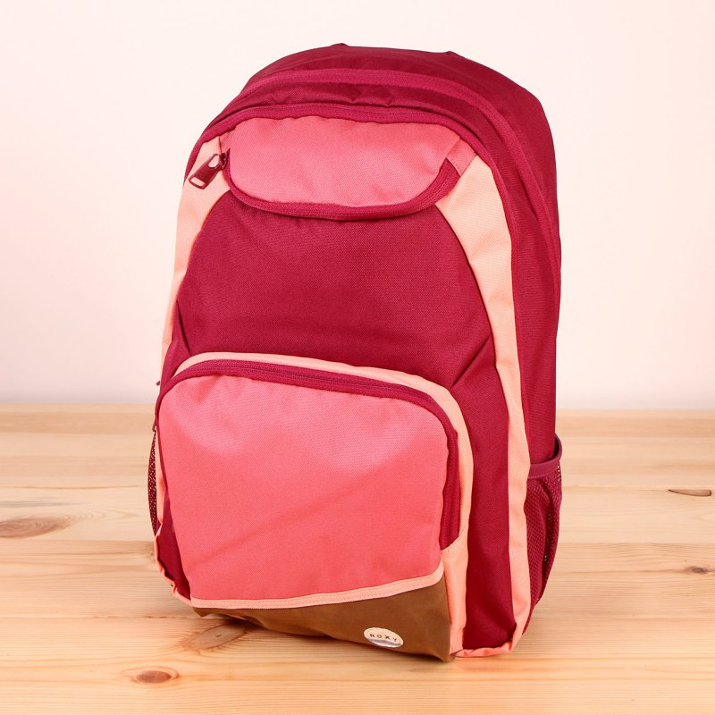 Plecak Roxy Shadow Swell Colorblock - Red Plum