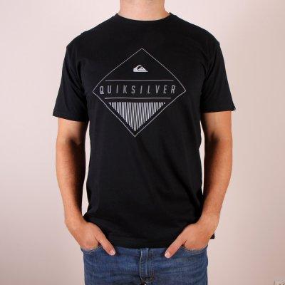 T-shirt Quiksilver Classic Tee Diamond Mine - Black