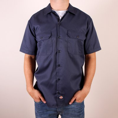 Koszula Dickies 1574 Short Sleeve Work Shirt - Navy