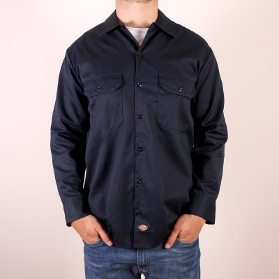 Koszula Dickies 574 Long Sleeve Work Shirt - Dark Navy