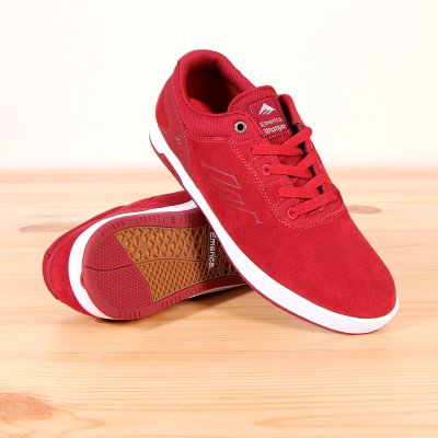 Buty Emerica The Westgate CC - Burgundy/White
