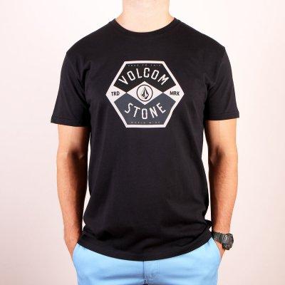 T-shirt Volcom Miners SS - Black