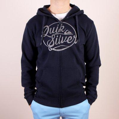 Bluza Quiksilver Hood Zip Go Team - Navy Blazer