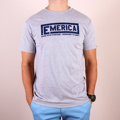 T-shirt Emerica Urnst Tee - Grey Heather