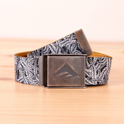Pasek Emerica Kemper Belt - Black/White