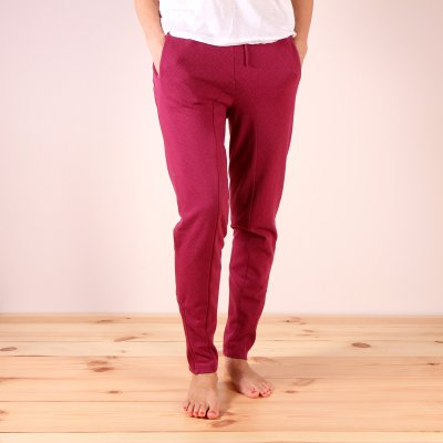Spodnie dresowe Roxy Let Me Go - Red Plum