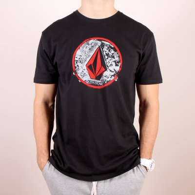 T-shirt Volcom Punk Circle SS - Black