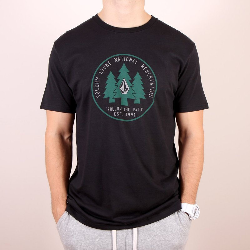 T-shirt Volcom Reservation SS - Black