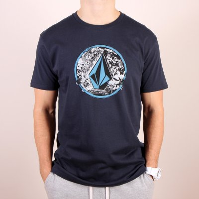 T-shirt Volcom Punk Circle SS - Navy