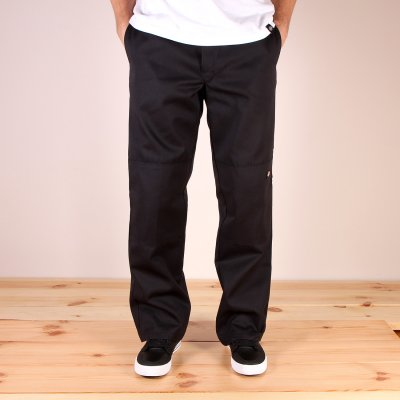 Spodnie Dickies Double Knee Work Pant - Black
