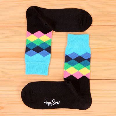 Skarpetki Happy Socks - Faded Diamond