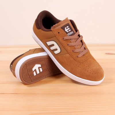 Buty Etnies Lo-Cut - Brown/White/Gum