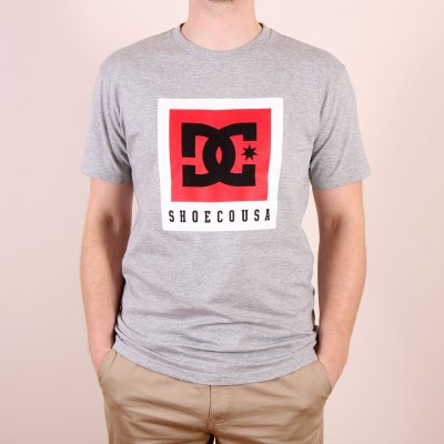 T-shirt DC Boxed Out SS - Heather Grey