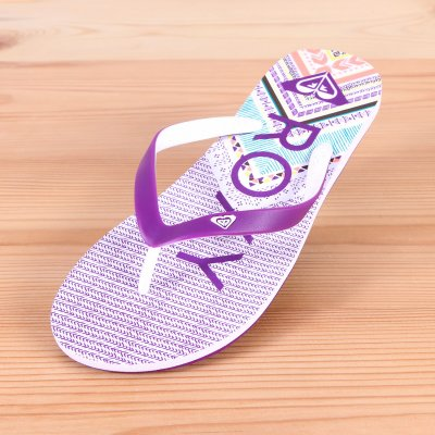 Japonki Roxy Tahiti V - White/Purple