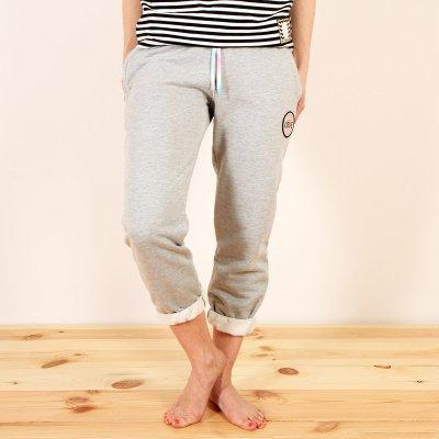 Spodnie dresowe Femi Pleasure Bibi - Ash Grey Melange