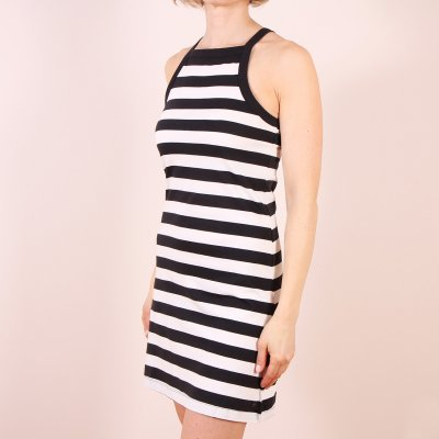 Sukienka Roxy Stranded On A Sandbar - Classic Stripe True Black 6545
