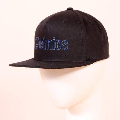Czapka z daszkiem Etnies Corporate 5 Snapback Hat - Black/Blue