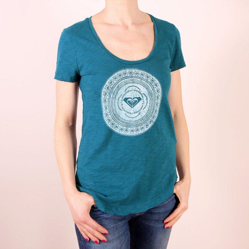 T-shirt Roxy Scoop Tee A - Ocean