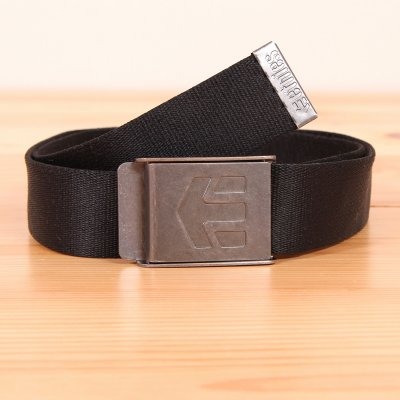 Pasek do spodni Etnies Staplez Belt - Black/Grey