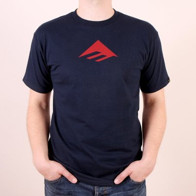 T-shirt Emerica Triangle Tee - Navy/Blue