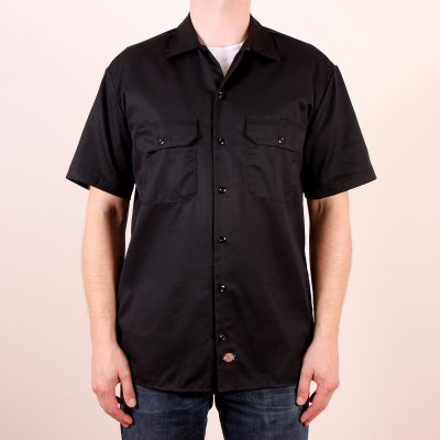 Koszula Dickies 1574 Short Sleeve Work Shirt - Black