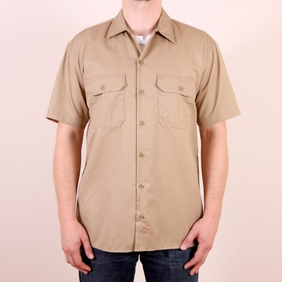 Koszula Dickies 1574 Short Sleeve Work Shirt - Khaki