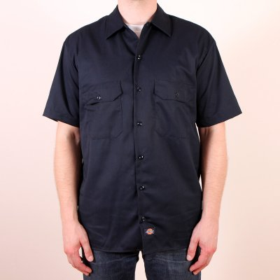Koszula Dickies 1574 Short Sleeve Work Shirt - Dark Navy
