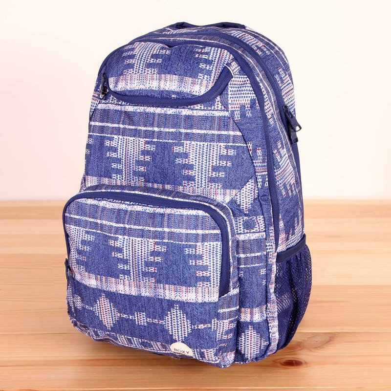 6dc11326b90c9 Plecak szkolny damski Roxy Shadow Swell Akiya Combo Blue Print