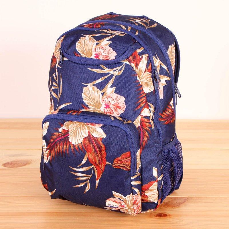 a9249a38a8b71 Plecak Roxy Shadow Swell - Castaway Floral Blue Print