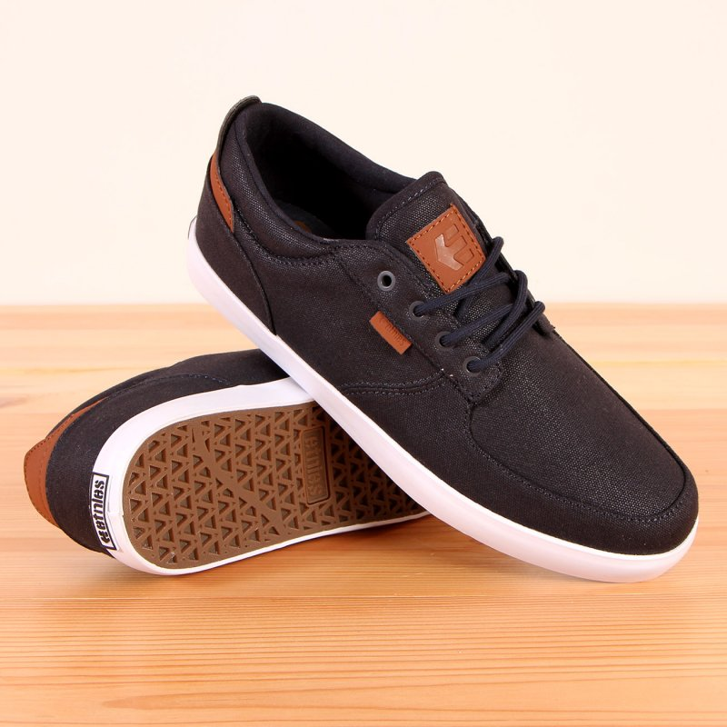 Buty Etnies Hitch - Navy/ Brown/ White